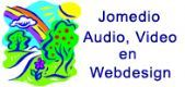 Jomedio Audio, Video en Webdesign logo
